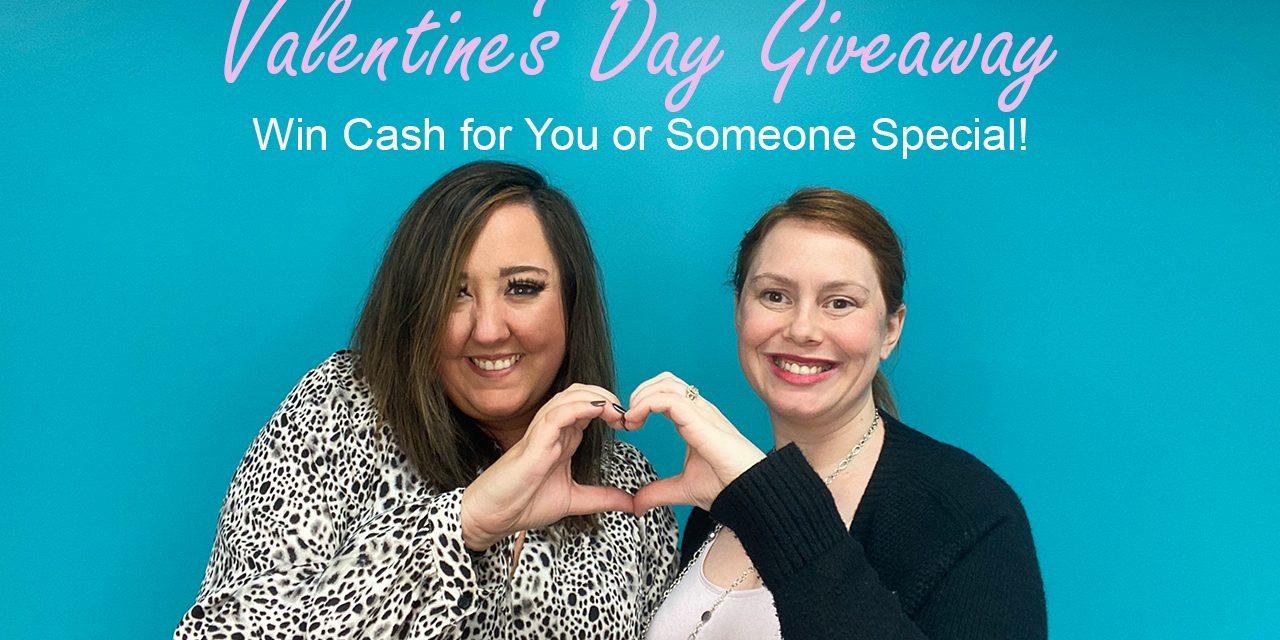 The Gig Life Valentine's Day Cash Giveaway